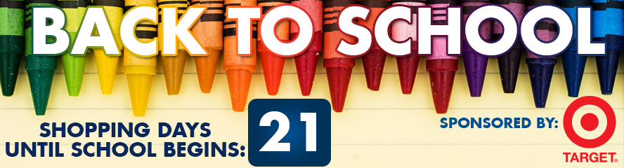 Back To School Countdown