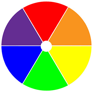Use the color wheel to make good decisions.