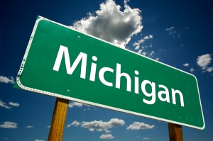 michigan-street-sign