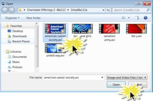 Open AVI file