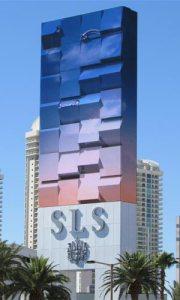 SLS Hotel & Casino marquee