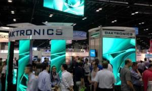 Daktronics booth at ISA Expo 2014