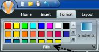 Format tab