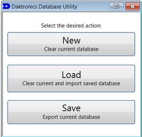 Daktronics Database Utility