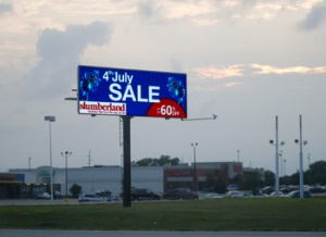 Precision Marketing Concepts billboard, Marshall, MN