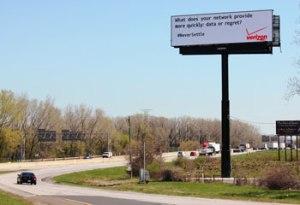 Oakwood Media digital billboard fired up