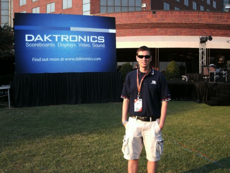 This post was written by Adam- Daktronics Field Customer Trainer