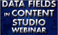 Data Fields in Content Studio