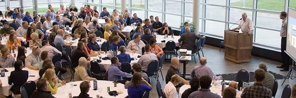 Sales Expo banquet at SDSU Performing Arts Center, Brookings, SD