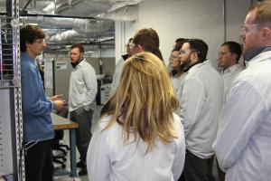 Guests to the conference were given a tour of the Daktronics manufacturing areas and reliability lab.