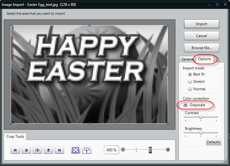 Easter Grayscale 2