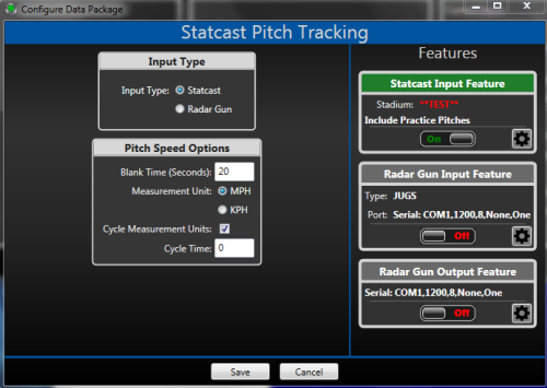 Statcast Pitch Tracking