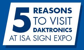 ISA and Daktronics