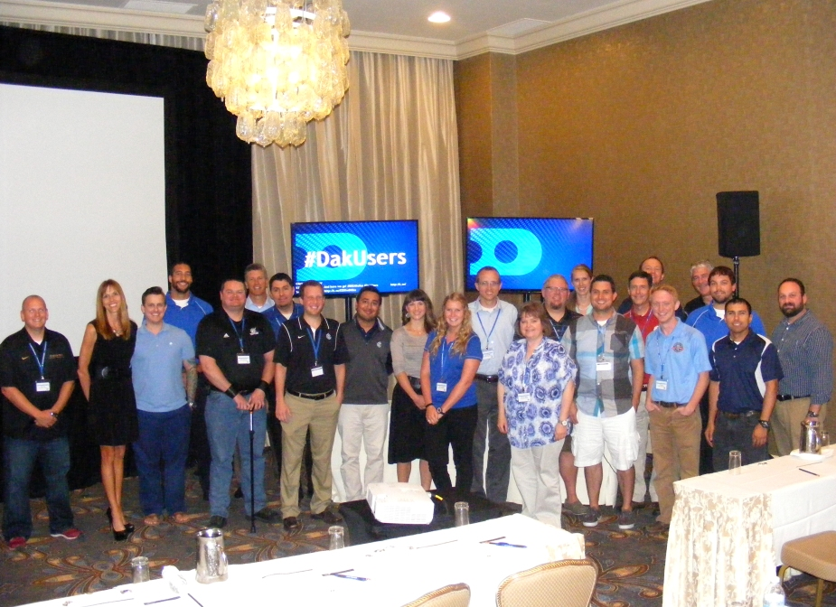 Attendees of the 2014 Sports Video Summit.