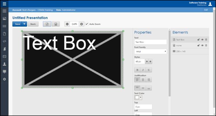 Web Editor 1 border