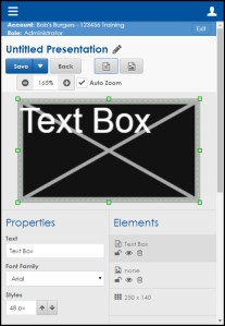 Web editor 2 border