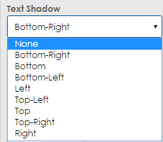 text shadow