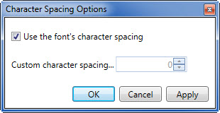 character-spacing-options