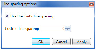 line-spacing-options