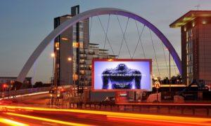 Forrest Media CityScreen II Glasgow Hydro Arena