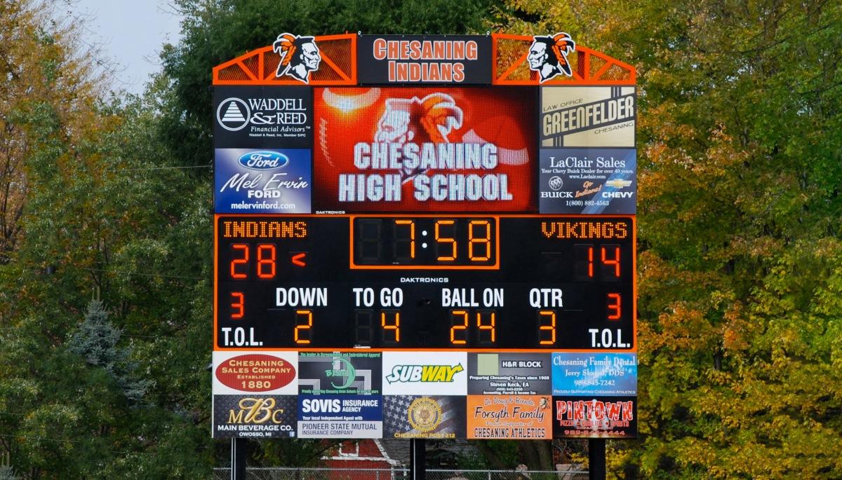Scoreboard Daktronics