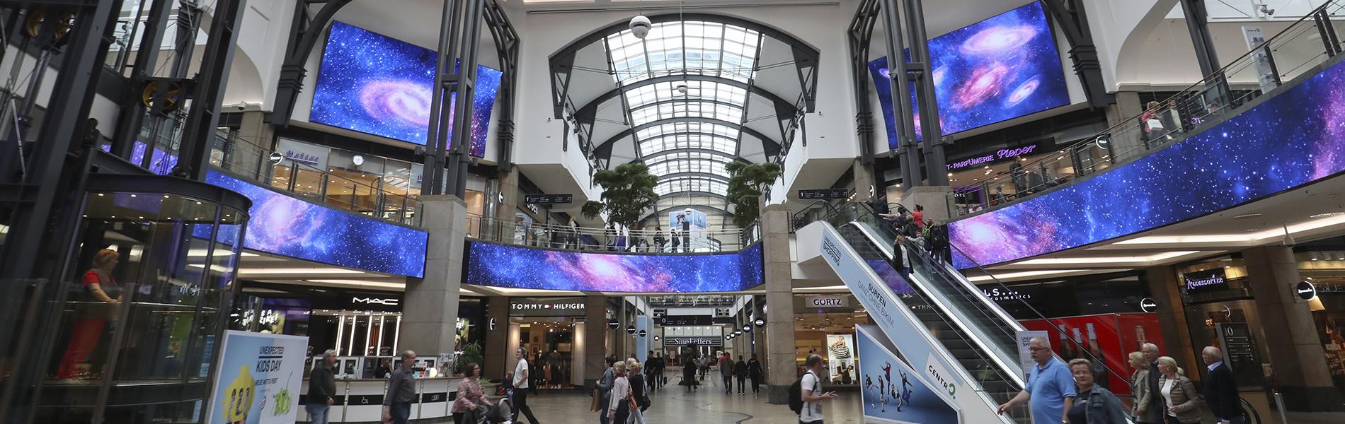 Mall Media S Led Future Is Bright Daktronics