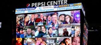 Pepsi Center Image Collage