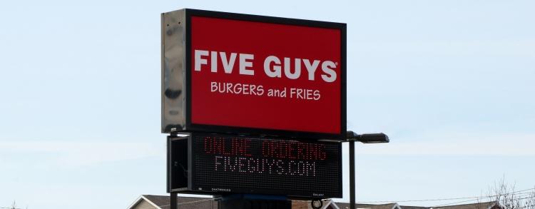 Five Guys_Sioux Falls, SD_tweet (1)