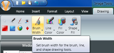 Brush Width