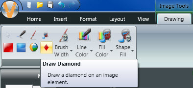 Draw Diamond