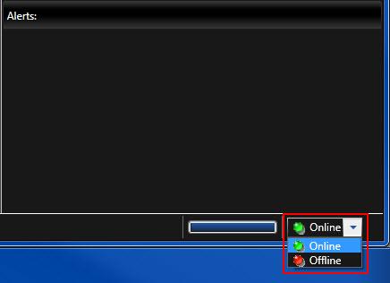 Online Offline Status Indicator