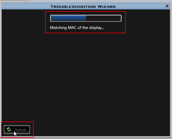 Troubleshooting Wizard 2