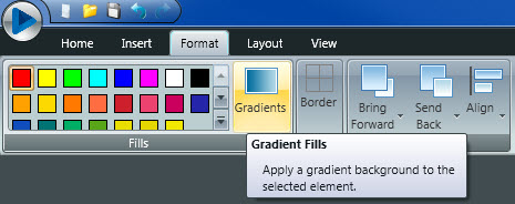 Gradients Tab