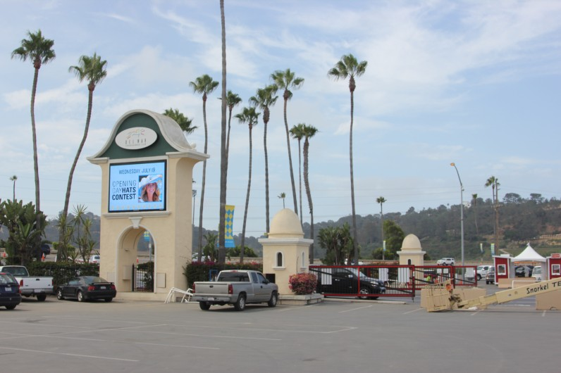Del Mar Racetrack Marquee