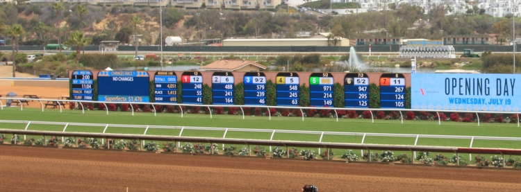 Del Mar Thoroughbred Race Club - Infield Display
