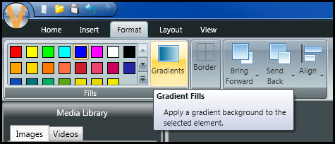 Click on Gradients