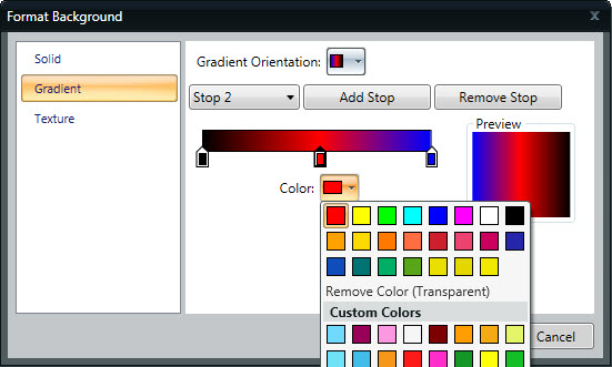Color Drop Down