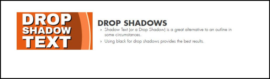 Drop Shadows