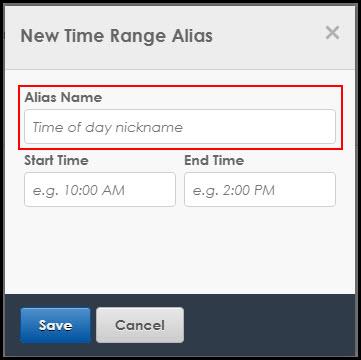 Alias Name