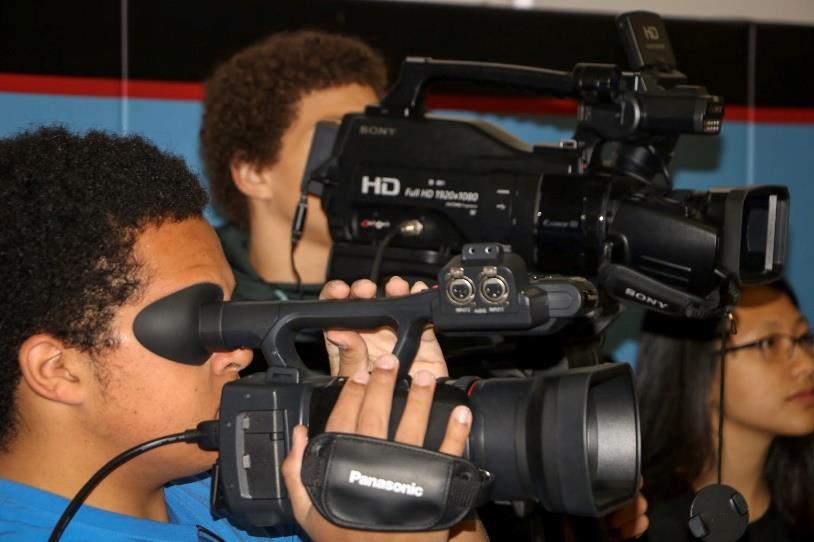 Students camera