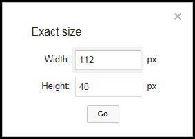 Exact Size