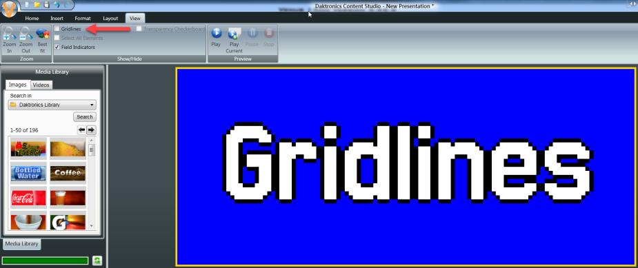 No Gridlines