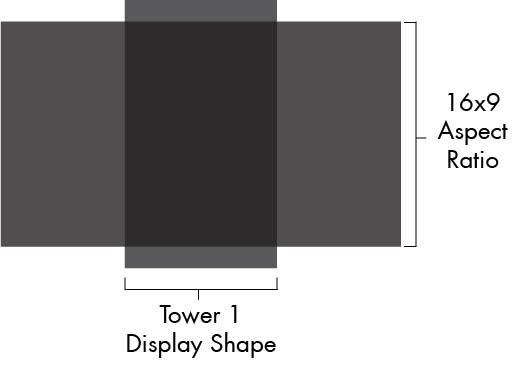 16x9 vs portrait size comparison