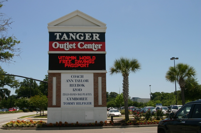 Tanger Outlets, Before