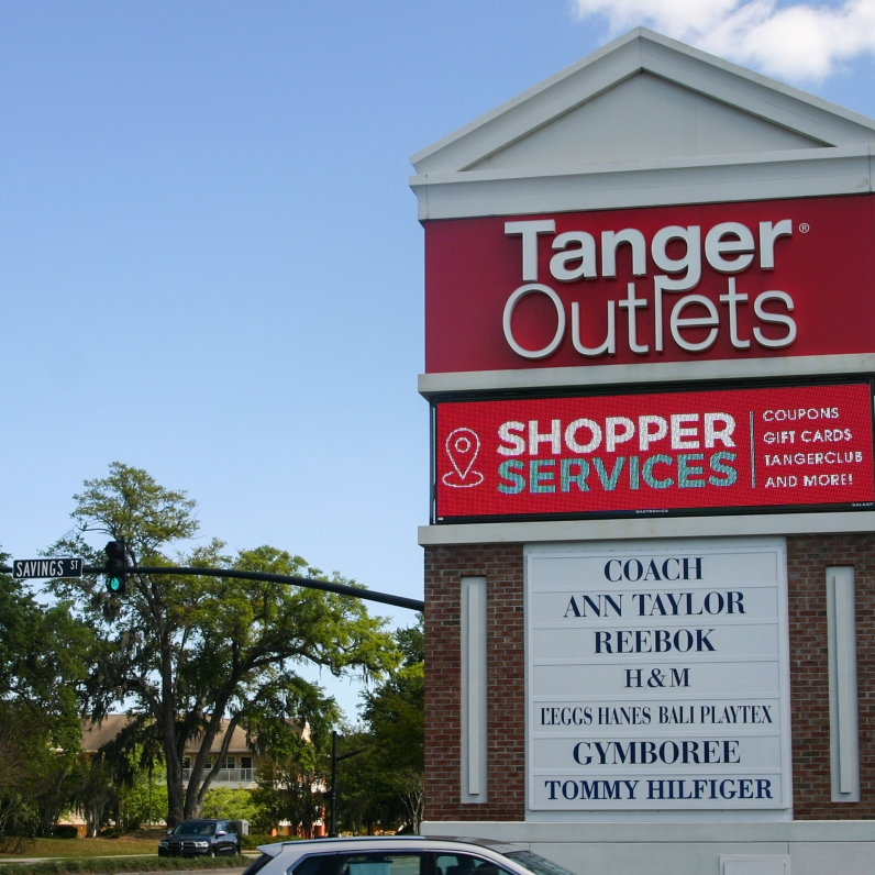 Tanger Outlets, After