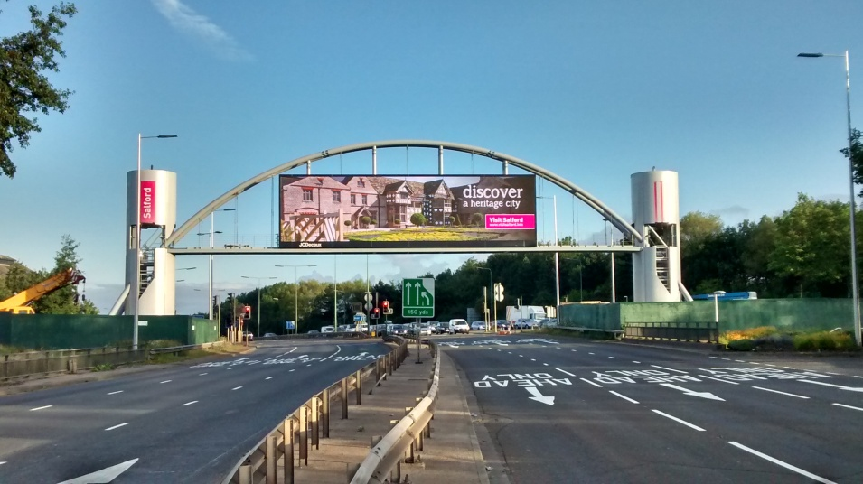Salford Arch | JCDecaux