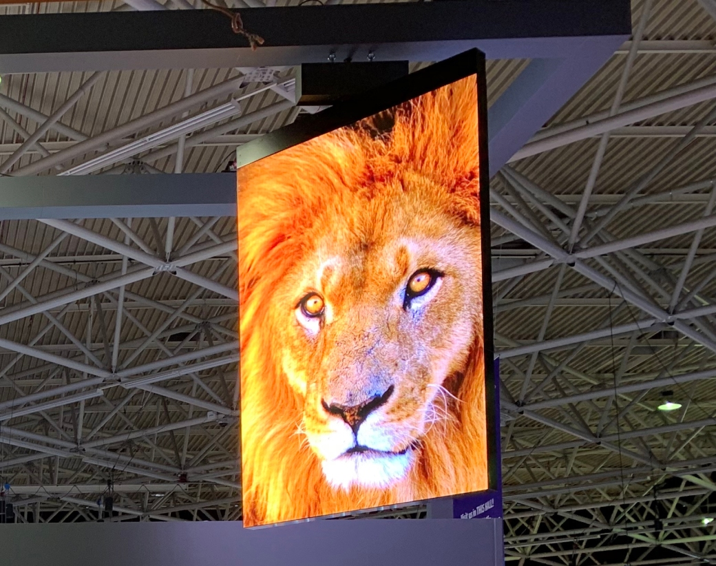Daktronics 4mm Double-Sided Rotating LED Banner
