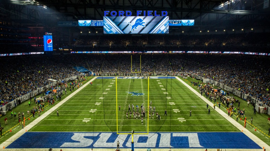 Detroit Lions_West End zone_01