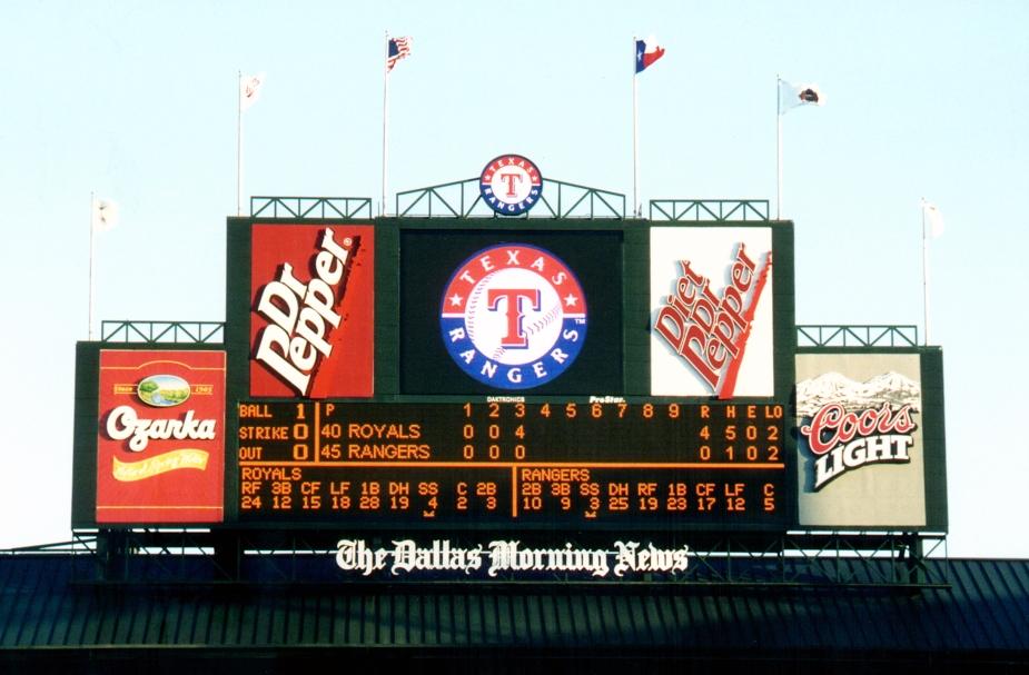 Texas Rangers - ProStar Logo