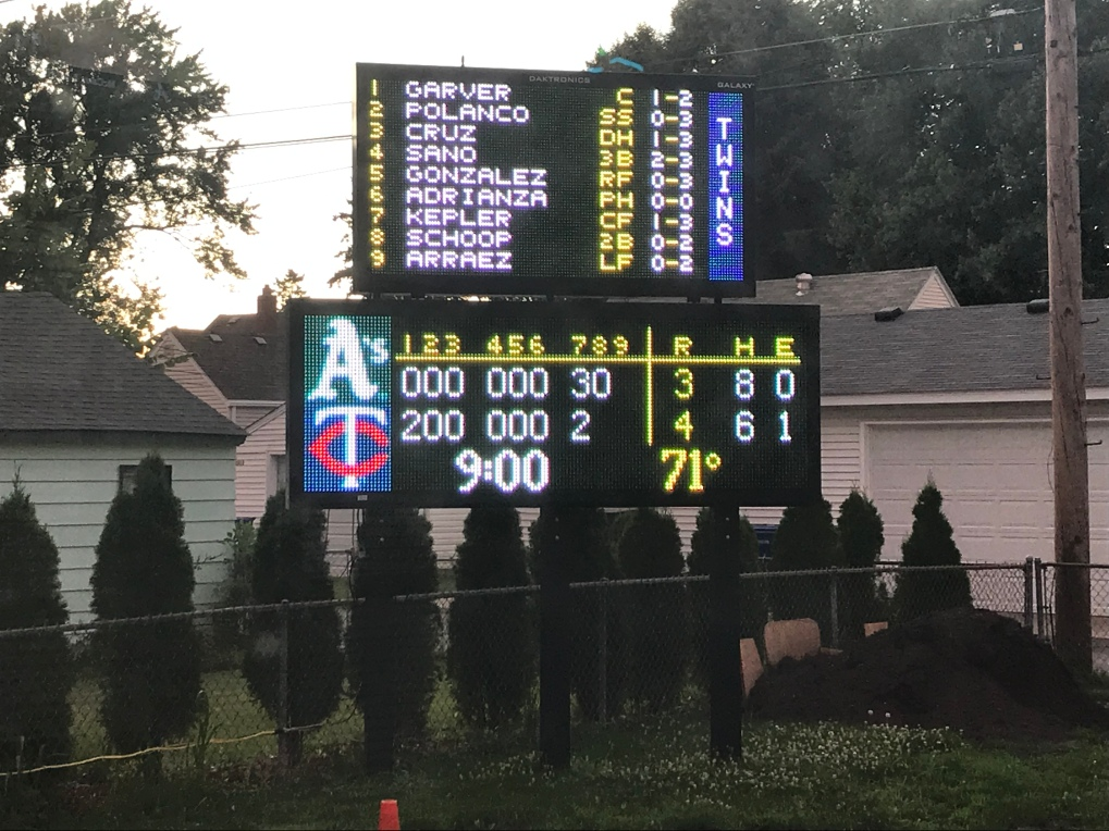 MLB Score